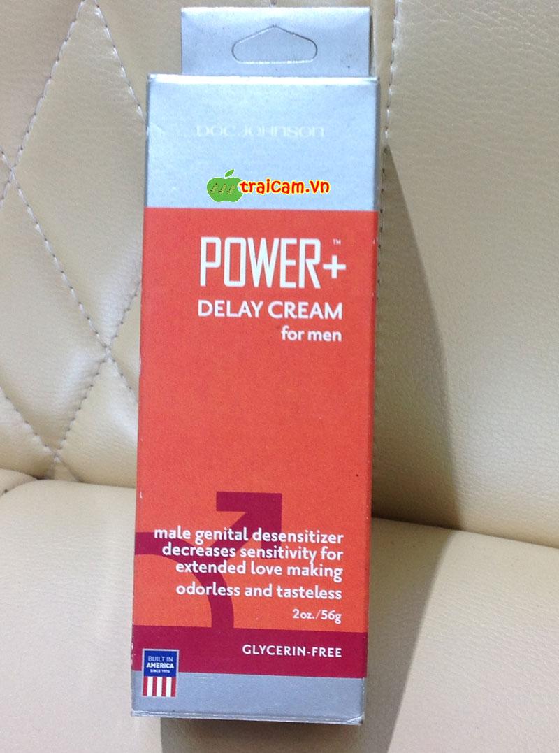Kem bôi kéo dài thời gian Power+ Delay Cream For Men 1