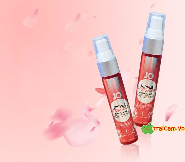 Kem kích thích và làm hồng nhũ hoa Jo Nipple tăng thêm hưng phấn và núm vú hồng hào trở lại 1