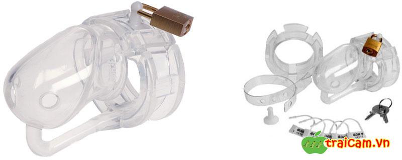 Khóa dương vật bằng silicone siêu mềm giữ vứng trinh tiết cho nam giới 3