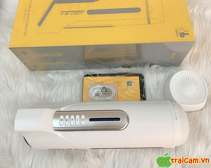 Máy Massage Cao Cấp Bú Liếm Dương Vật Leten A380 Pro 3