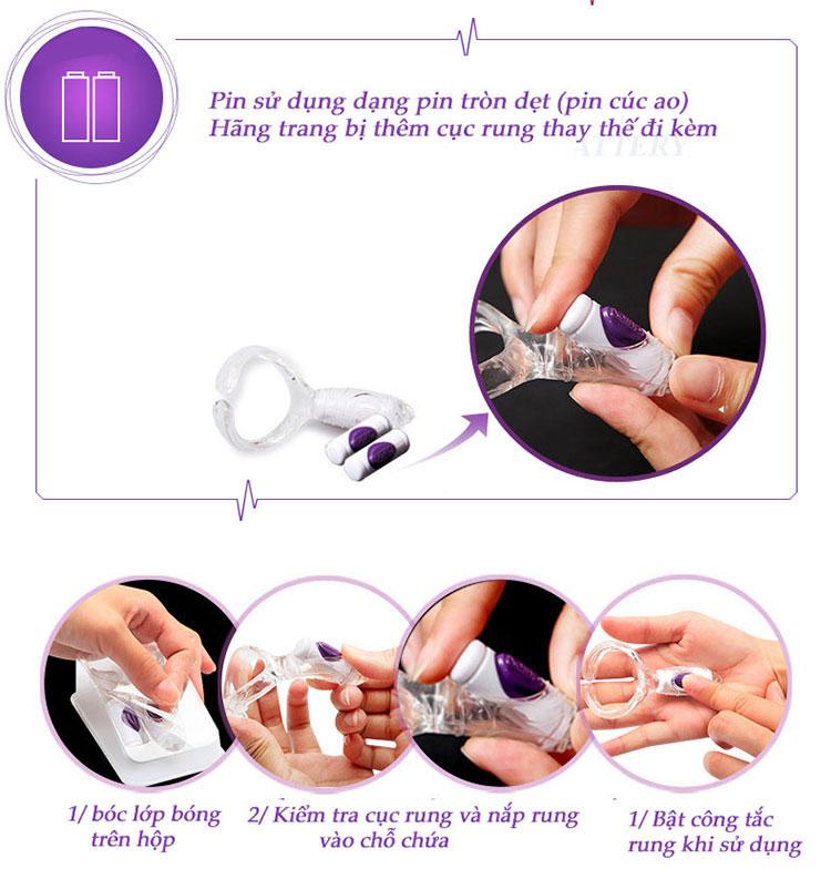 Máy massage Durex play focus cho nữ chính hãng Durex 2
