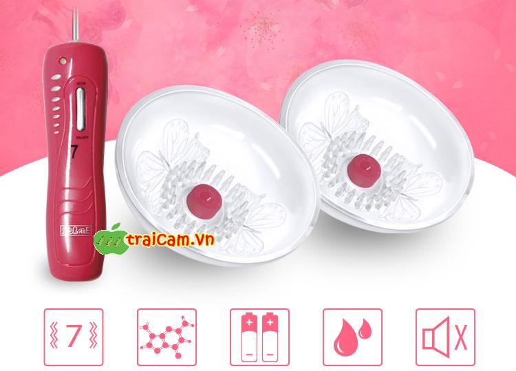 Máy massage ngực Momo, sản phẩm mát xa ngực cao cấp cho nữ 2