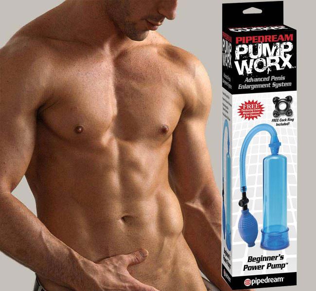 Làm to dương vật bằng phương pháp tự nhiên Pump worx