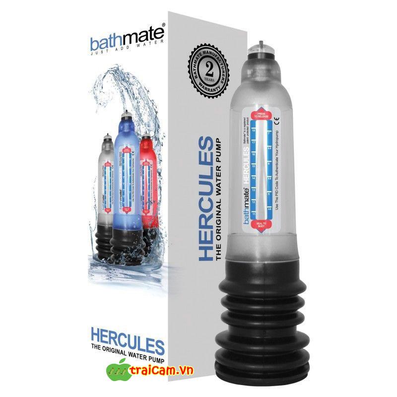 Máy tập làm to dương vật nhập khẩu Anh Bathmate Hercules giúp dương vật to hơn và dài hơn 2