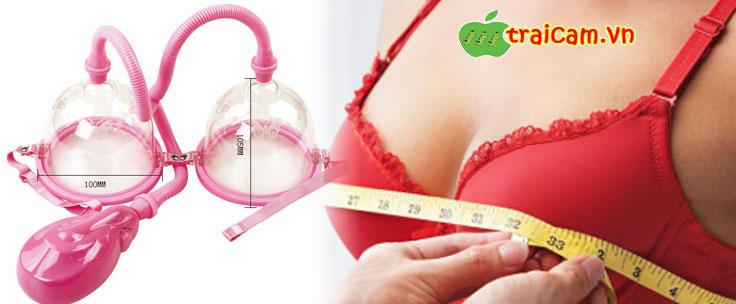 Máy tập (massage) làm to và tròn ngực cho chị em phụ nữ 2