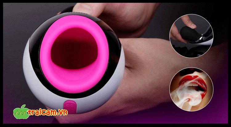 Máy thủ dâm cao cấp dành cho nam giới Nalone Oxxy có rung và kết nối Bluetooth 3