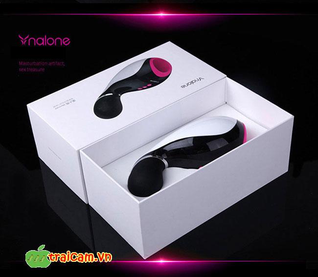 Máy thủ dâm cao cấp dành cho nam giới Nalone Oxxy có rung và kết nối Bluetooth 5