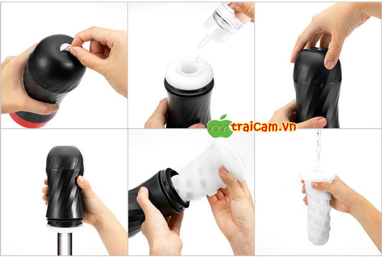 Máy thủ dâm cao cấp Tenga có thể sử dụng nhiều lần ôm chặt và siết dương vật theo ý muốn 3
