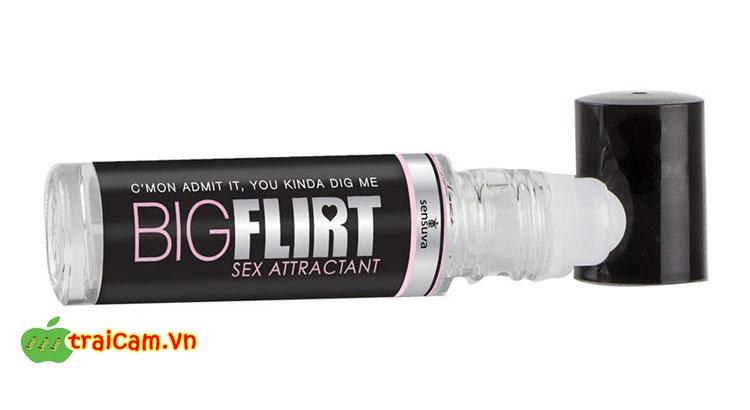 Nước hoa kích thích tình dục cao cấp Sensuva Big Flirt tăng thêm ham muốn tình dục cho nam nữ 2