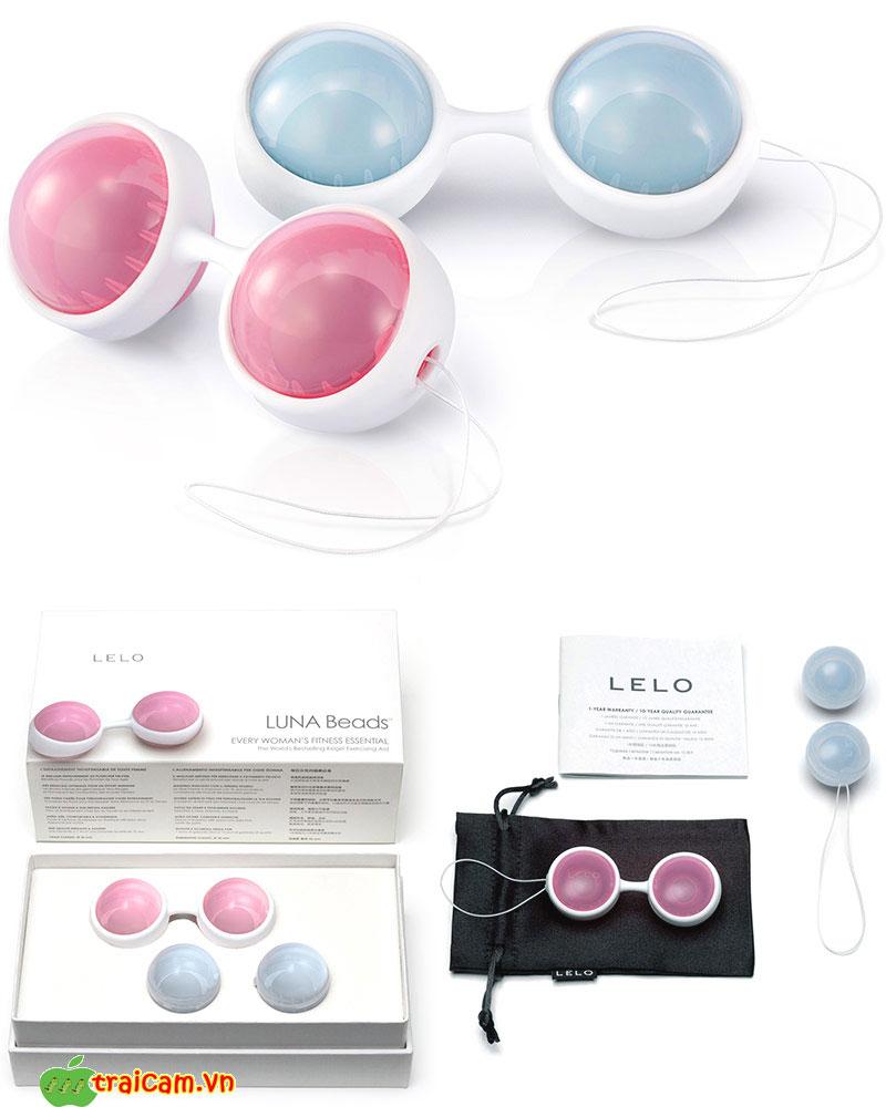 Quả bóng âm đạo LELO Luna để nữ giới tập âm đạo