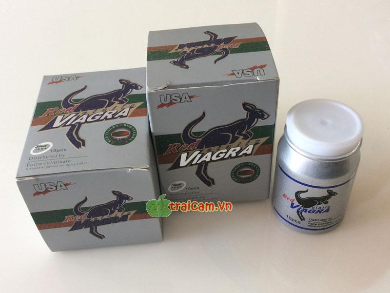 Red viagra cialis - 200mg của USA - Tăng cường sinh lý nam giới 1