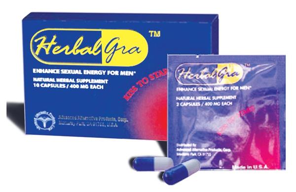 Tăng cường khả năng tình dục Herbalgra for men