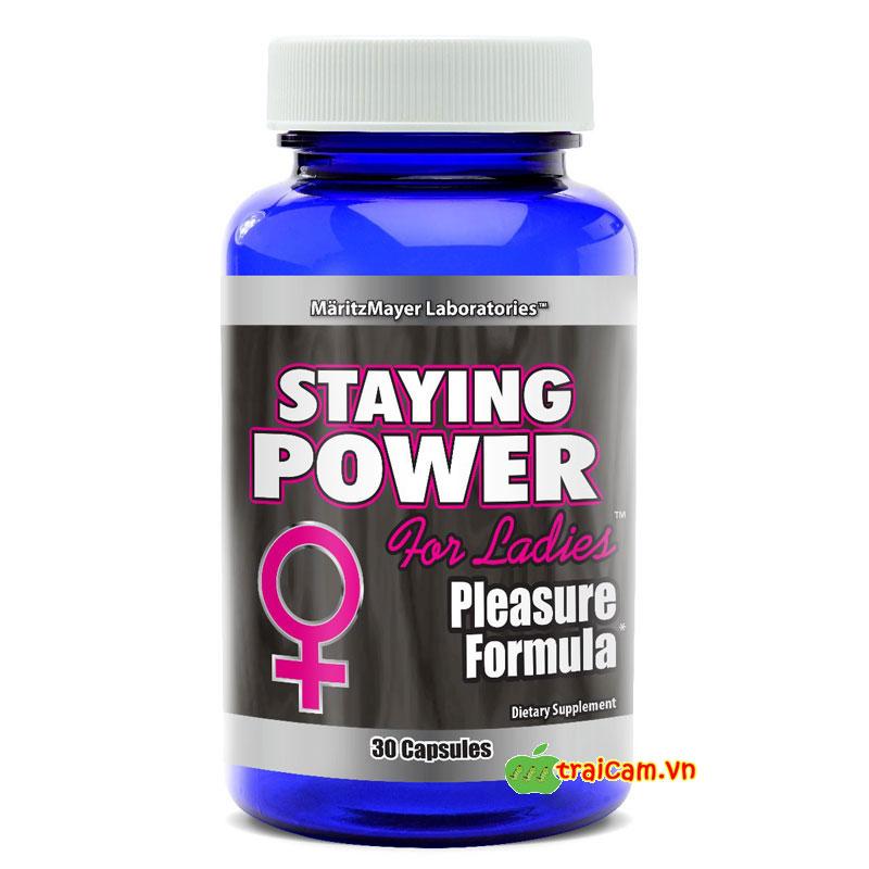 Tăng cường sinh lực cho nữ giới khi quan hệ Staying Power 3