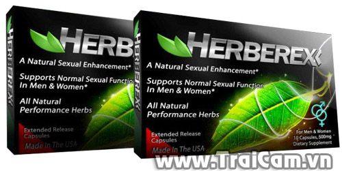Thuốc tăng cường sinh lý với Herberex