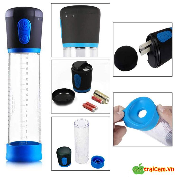 Tập luyện to dương vật bằng máy hút chân không Electric Vacuum pump 3