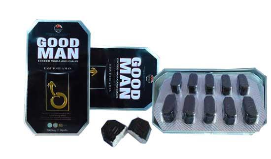 Thuốc trị rối loạn cương dương Good Man 7000mg cực mạnh 10 viên