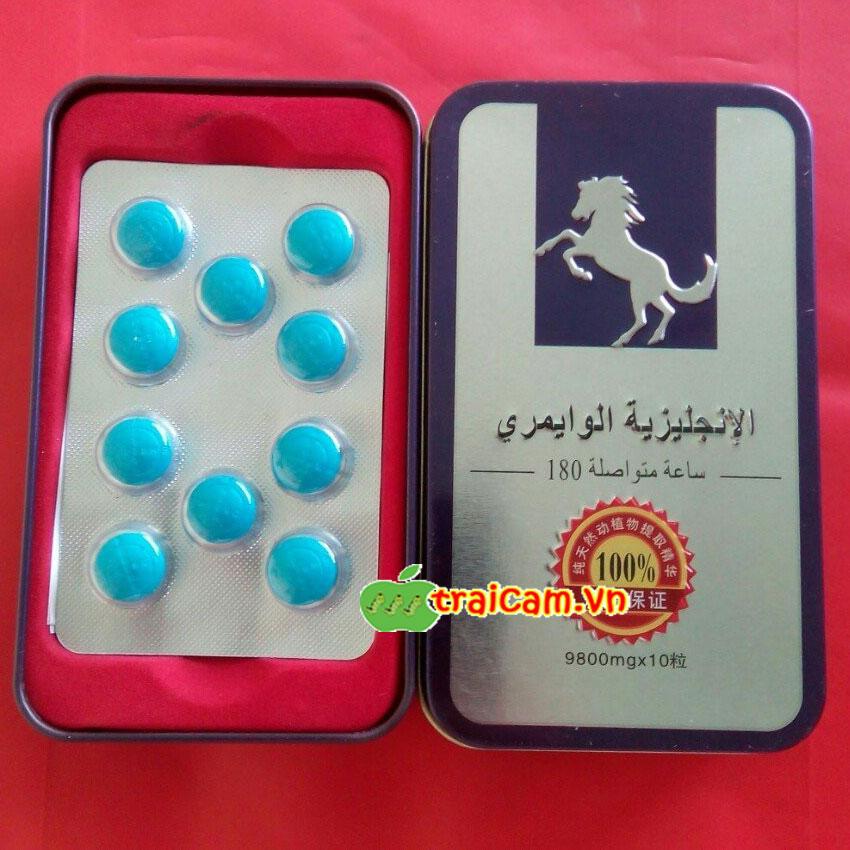 Thuốc cường dương ngựa thái 9800mg hỗ trợ nam giới yếu sinh lý