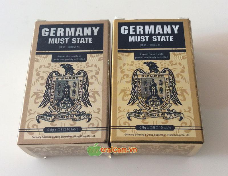 Thuốc cương dương Germany Must State nhập khẩu Đức hiệu quả