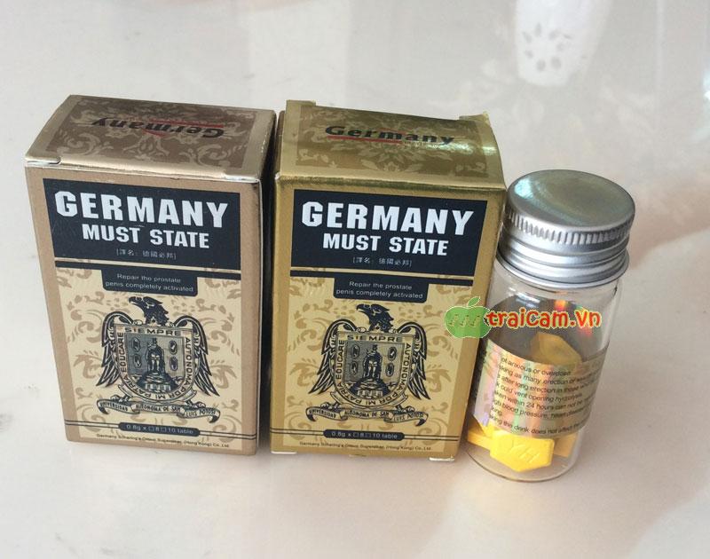 Thuốc cương dương Germany Must State nhập khẩu Đức hiệu quả 1