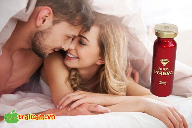 Thuốc cường dương thảo dược Ruby Viagra USA điều trị chứng bất lực của nam giới 4