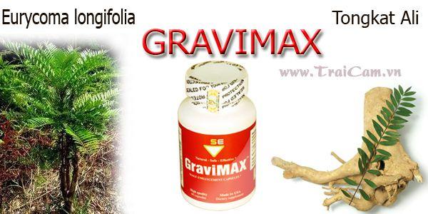 Thuốc Gravimax tăng kích thước dương vật