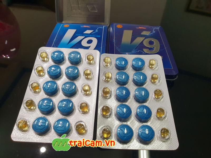 Thuốc kích thích tình dục nam V9 tăng khả năng cương cứng và ham muốn cho nam giới 4