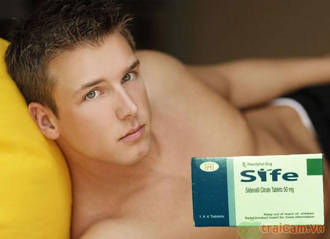 Thuốc Sife 50 mg giúp điều trị rối loạn chức năng cương dương 2