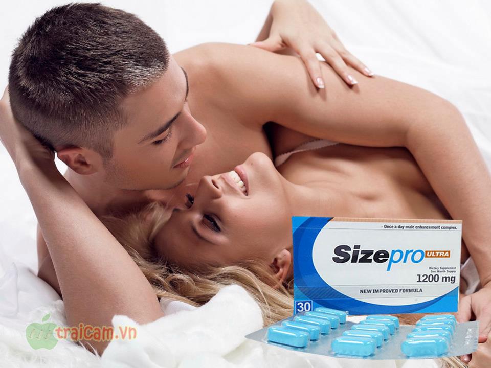 Thuốc tăng cường sinh lực đàn ông Sizepro 1200mg