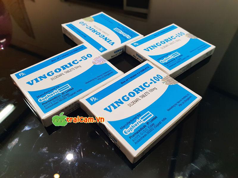 Thuốc trị bất lực cho nam giới Vingoric 100mg điều trị rối loạn cương dương 2