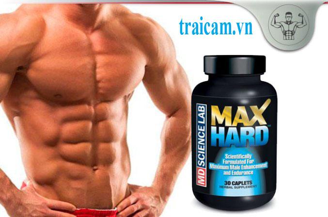 Thuốc trị rối loạn cương dương Max Hard hỗ trợ sinh lý cho nam giới