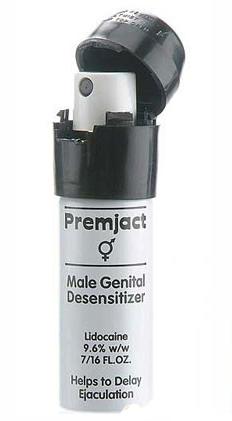 Thuốc xịt Sremjact Male Spray có chức năng trị phóng tinh sớm