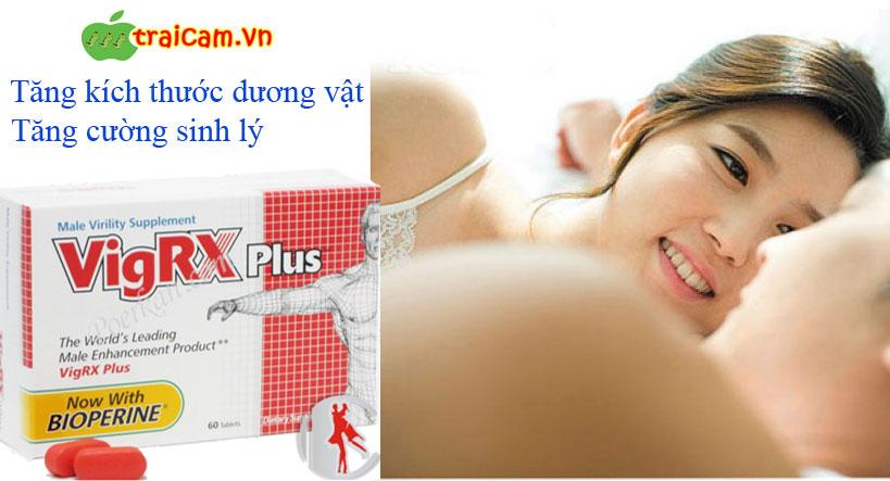 Thảo dược VigRX plus - thuốc tăng kích thước dương vật - tăng cường sinh lý cho nam