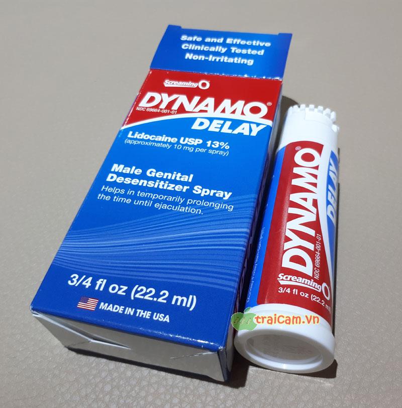 Thuốc chống xuất tinh sớm Dynamo Delay Tphcm, Hà Nội, Đà Nẵng