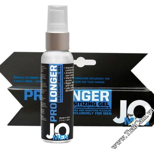 Thuốc xịt trị xuất tinh sớm Jo Prolonger, và kéo dài thời gian quan hệ
