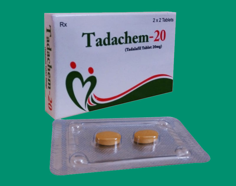 Trị yêu sinh lý Tadachem 20mg, Bổ thận, rối loạn cương dương