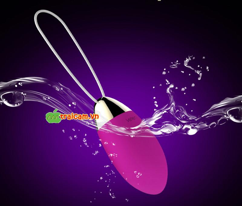 Trứng rung âm đạo mát xa điểm G không dây điều khiển từ xa Leten Lighning cho nữ phê 3