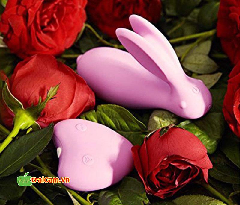 Trứng rung con thỏ cao cấp Luxeluv cho chị em giải tỏa ham muốn sinh lý rung 8 chế độ 6