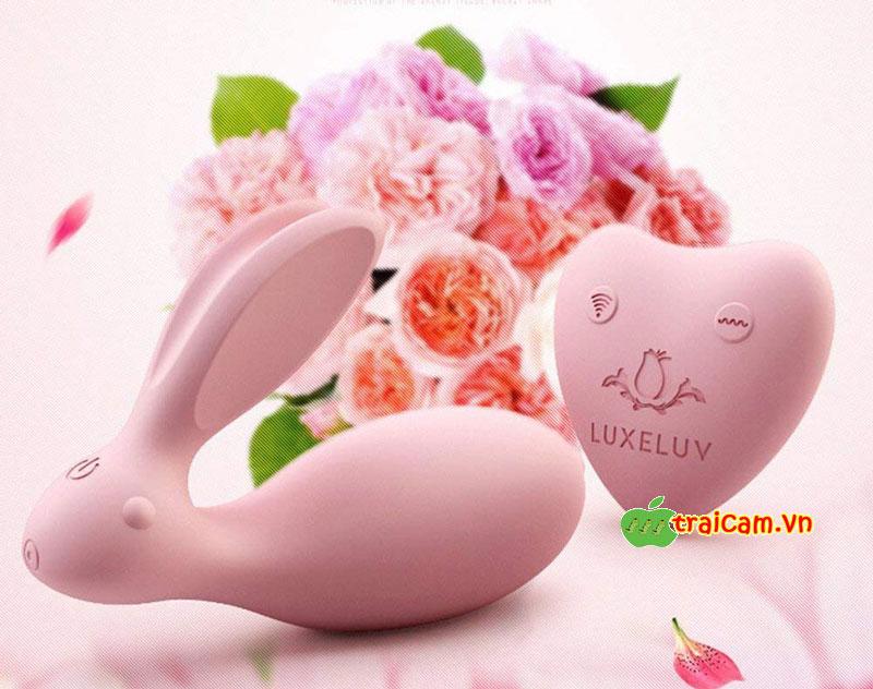 Trứng rung con thỏ cao cấp Luxeluv cho chị em giải tỏa ham muốn sinh lý rung 8 chế độ 7
