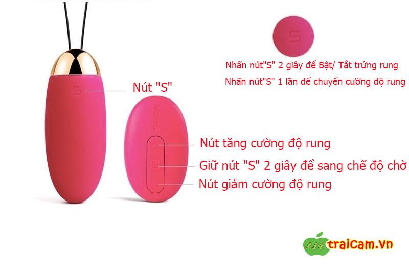 Trứng rung kích thích âm đạo điều khiển từ xa SVAKOM Elva giúp cặp đôi có màn dạo đầu sung sướng 3