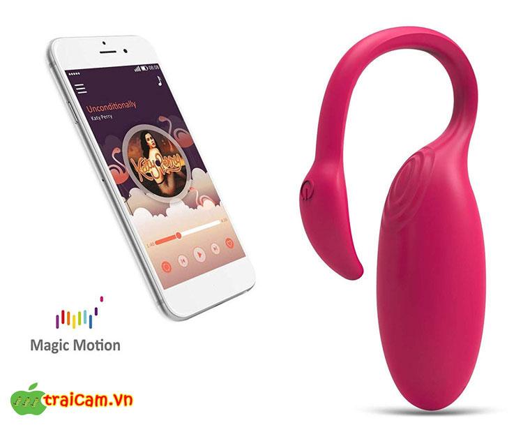 Trứng rung tình yêu thiên nga Magic Motion Flamingo - Traicam.vn 1