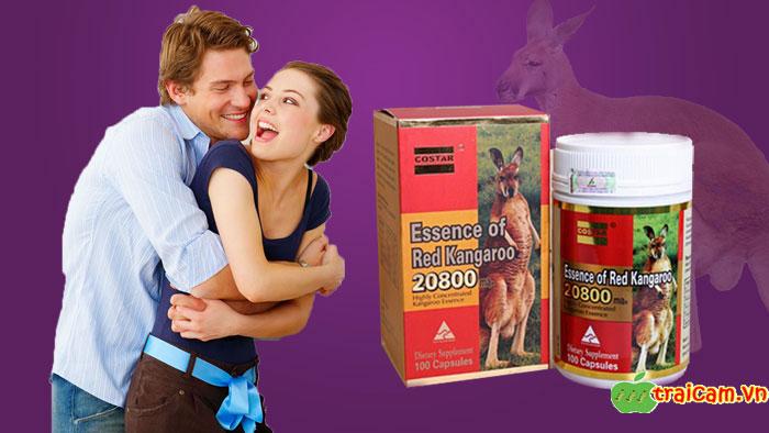 Viên uống tăng cường sinh lý nam giới Essence of Red Kangaroo cho nam giới sung mãn hơn 2