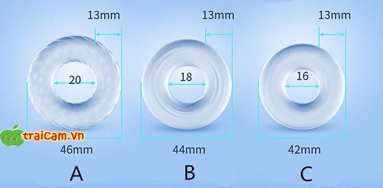 Vòng silicon chống xuất tinh sớm cho nam giới thêm tự tin khi làm tình 4