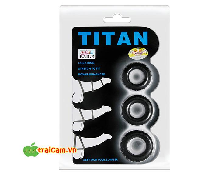 Vòng Titan giúp giữ cương cứng kéo dài thời gian xuất tinh cho nam 3