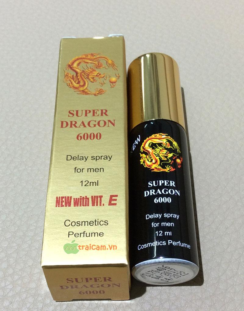 Thuốc xịt trị xuất tinh sớm cho nam giới Super Dragon 6000